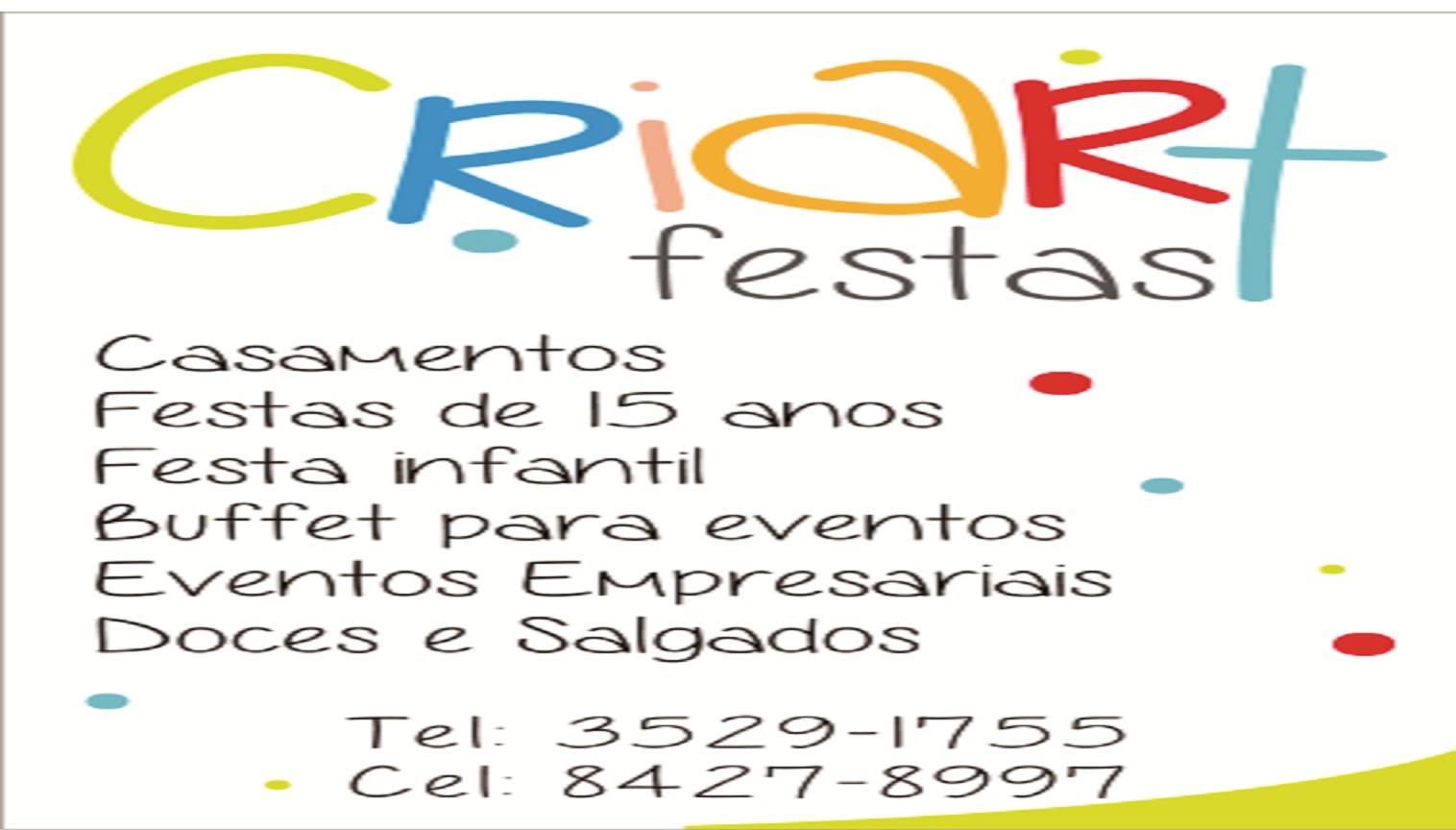 CRIART FESTAS